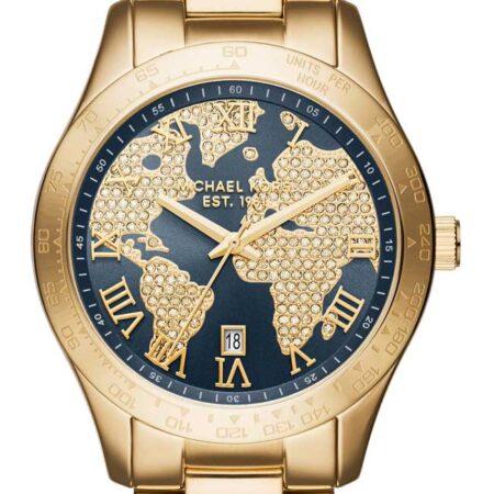 MICHAEL KORS Layton Gold Stainless Steel Bracelet MK6243