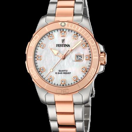Γυναικείο Ρολόι Festina f20505/1 με δώρο ατσάλινο Βραχιόλι Festina